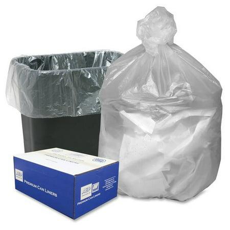 WEBSTER INDUSTRIES                                 High Density Resin 16-Gal. Trash Bags High Density Resin