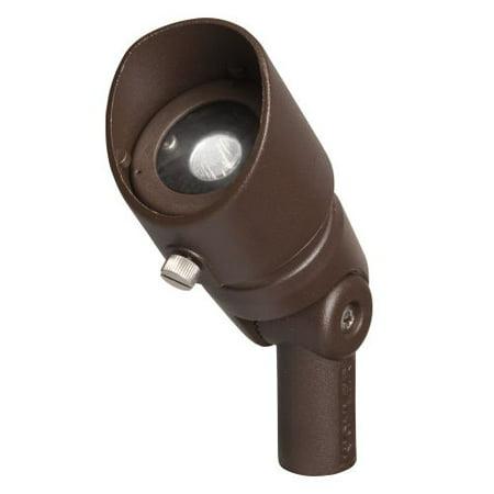 Kichler 16001-30 3W Mini LED Accent Light - 3000K - 35 Degree Flood Beam