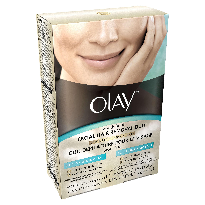 Olay Smooth Finish Facial Hair Remover Duo Fine To Medium Hair 1