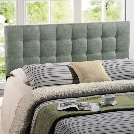 Modway Lily Tufted Headboard, Multiple Sizes and Colors Cotton Duck Upholstered Headboard