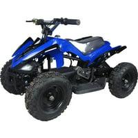Kids Ride on 350W 24V Battery Power Mini ATV Mars, Blue