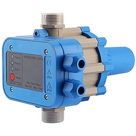 FAGINEY Water Pump Pressure Controller,110V 50/60HZ Automatic Electric Electronic Switch Control Pump Protection (Water Pump Switch)