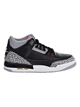 the latest 15d3c becba Product Image Air Jordan 3 Retro OG Big Kids  Basketball Shoes Black Fire  Red Cement