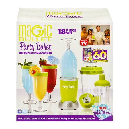 Magic Bullet Party Bullet Green - 18 PC, 18.0 PIECE(S)