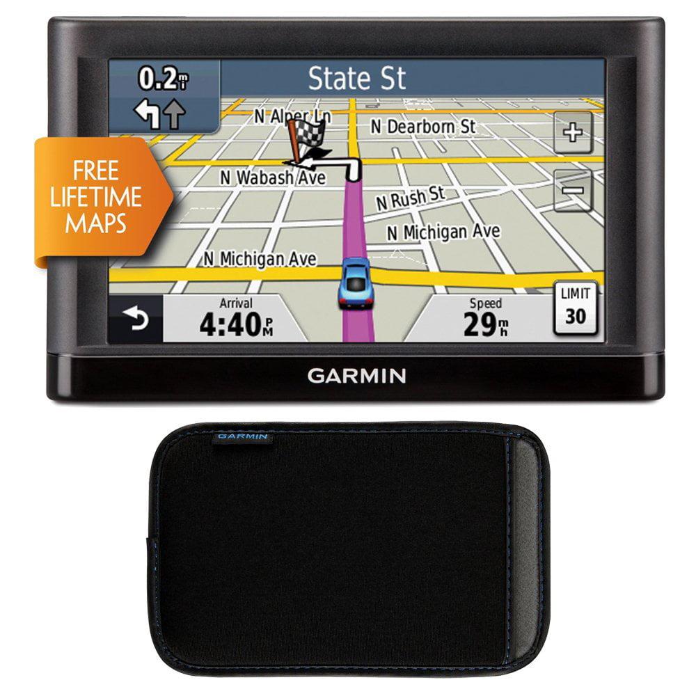 Garmin nuvi 52LM 5in Portable Vehicle GPS Lifetime Maps US Walmartcom