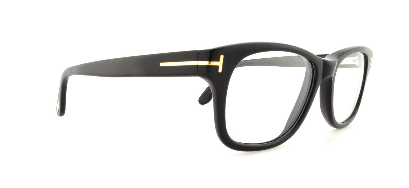 9abb9476df3 TOM FORD Eyeglasses FT5147 001 Shiny Black 52MM - Walmart.com