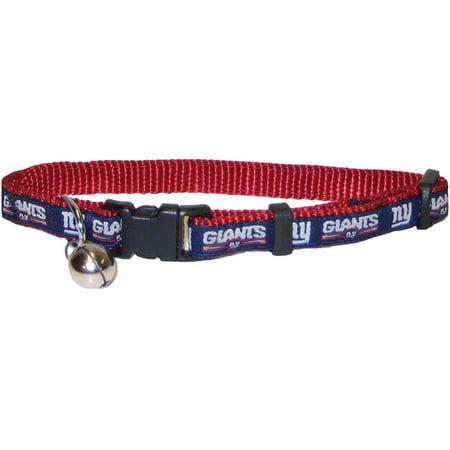 NFL CAT COLLAR. - NEW YORK GIANTS CAT COLLAR. - Strong   Adjustable ... 247baf6c4