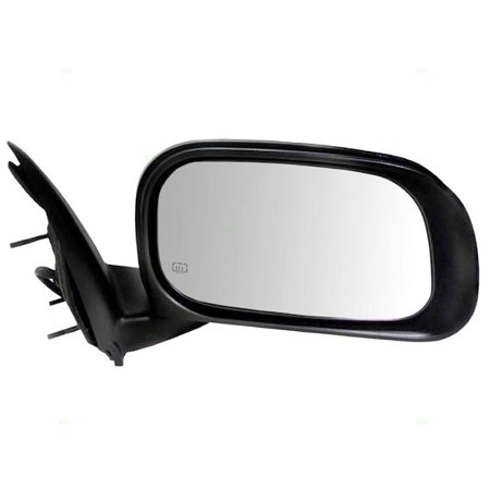 Passengers Power Side View Mirror Heated with Chrome Cover Replacement for Chrysler SUV 55364664AI
