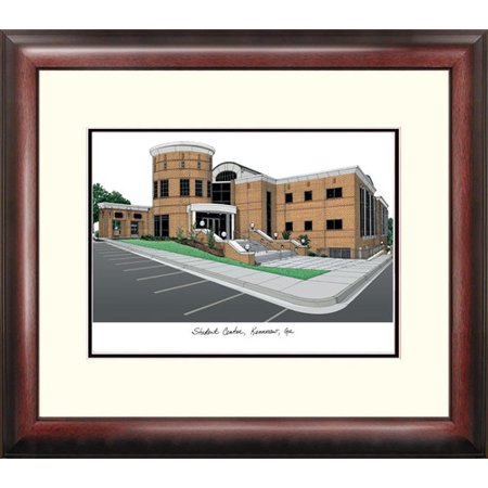 Kennesaw State University Alumnus Framed Lithograph