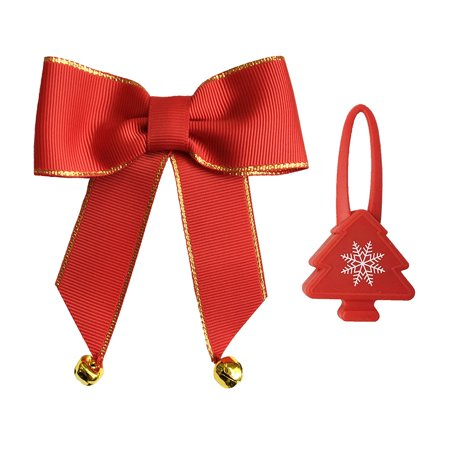 Bow & Arrow Pet Holiday Dog Collar Bow Accessories