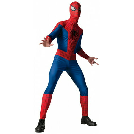 Amazing Spider-Man Adult Costume - Standard - Amazing Adult Costumes
