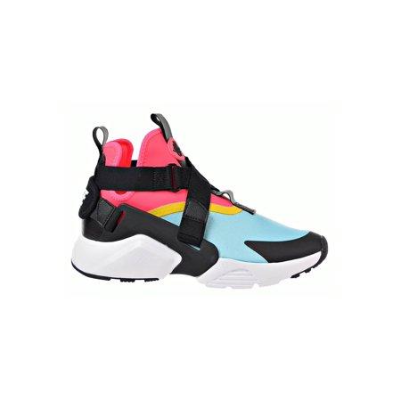 Nike Womens Air Huarache City Fabric Hight Top   Fashion Sneakers Nike Huarache Elite