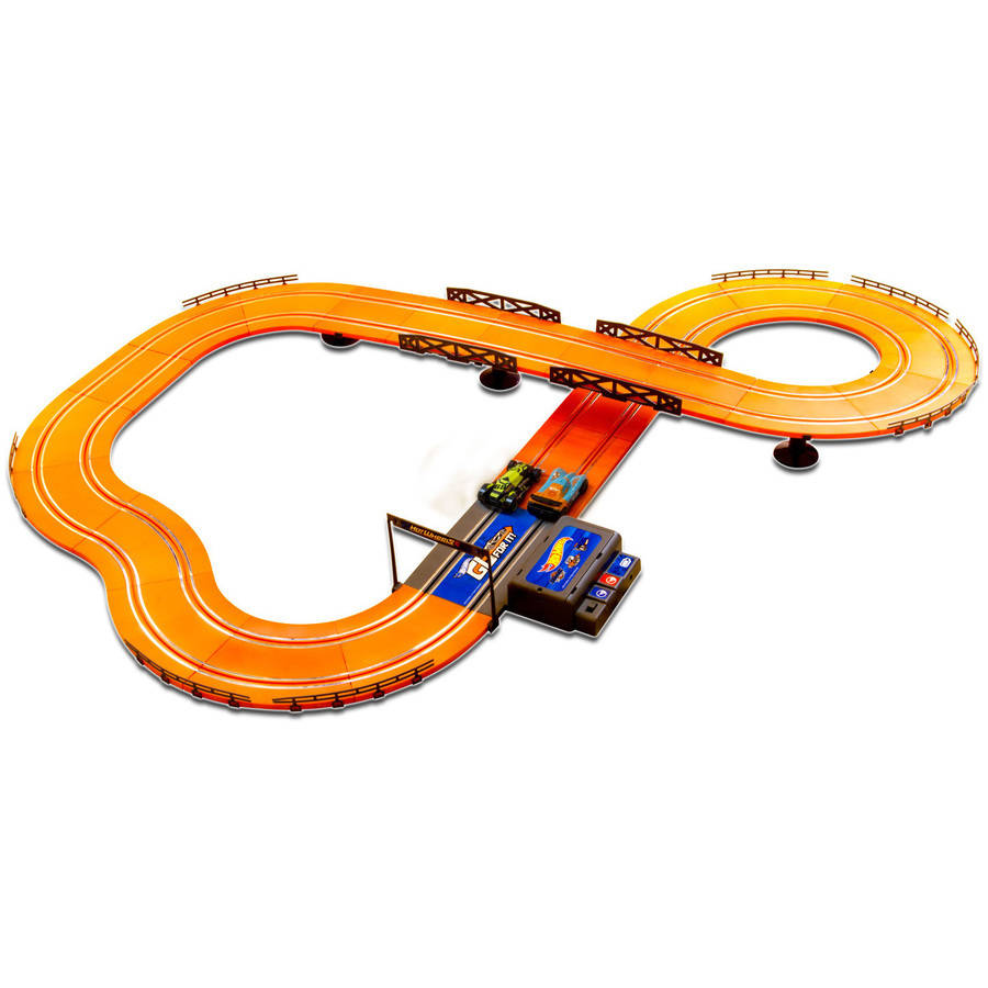 Hot Wheels Battery Operated 12.4 Slot Track