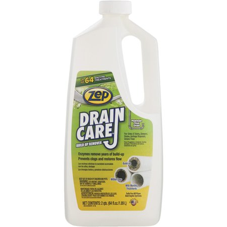 Zep Commercial Drain Care Liquid Drain Cleaner Walmart Com