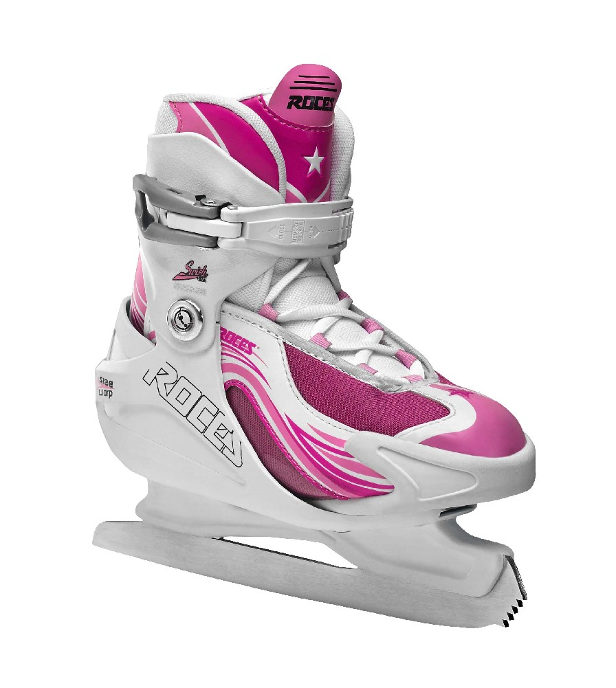 Roces Girl's Swish Ice Skate Size Adjustable 450630 00001 by Roces