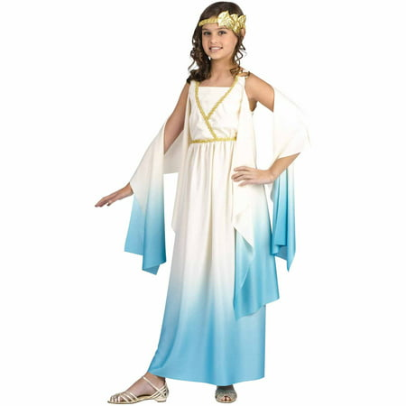 Greek Goddess Child Halloween Costume - Athena Goddess Costume