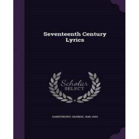 Seventeenth Century Lyrics - image 1 of 1