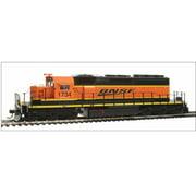 Broadway Limited 4211 HO BNSF Railway EMD SD40-2 Low-Nose Diesel Engine #1734