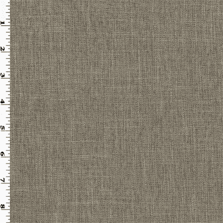 Gray Texture Woven Home Decorating Fabric, Fabric By the Yard