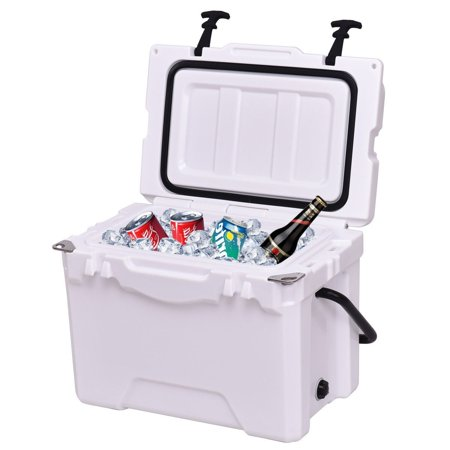 20QT Handle Lockable Fishing Camping Cooler Ice
