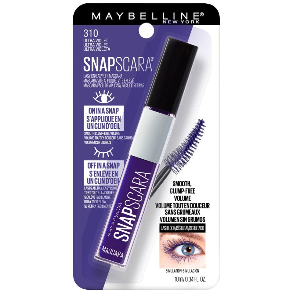 56524e5250b Maybelline Snapscara Washable Mascara, Pitch Black, 0.34 fl. oz. -  Walmart.com