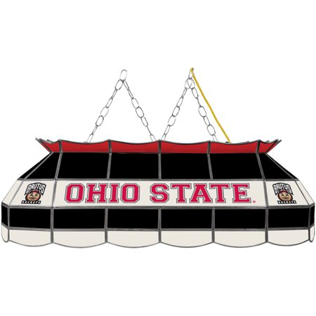 Ohio State Stained Glass (Trademark Gameroom The Ohio State Stained Glass 40 inch Lighting)