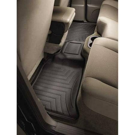 WeatherTech 08-13 Toyota Land Cruiser Rear FloorLiner - Black