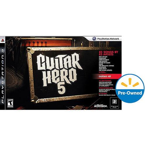 Guitar Hero 5 Bundle (PS3) - Pre-Owned