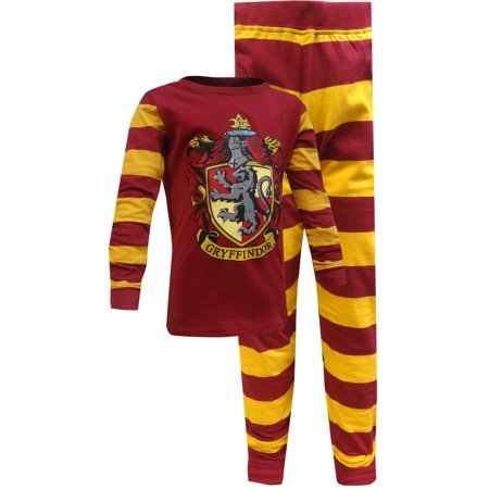 Harry Potter Gryffindor 2 Piece Pajama Set (Boys & Girls) (Pikachu Girl Or Boy)