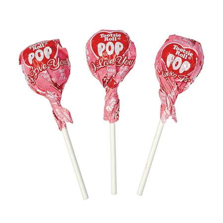- Fun Express - Valentine Tootsie Pops for Valentine's Day - Edibles - Sucker & Pop - Suckers & Lollipops - Valentine's Day - 34 Pieces