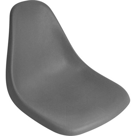 Foam For Boat Seats - Attwood Single-Piece Molded Boat Seat, Gray