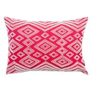 A1 Home Collections Oblong Beaded Cotton Throw Pillow