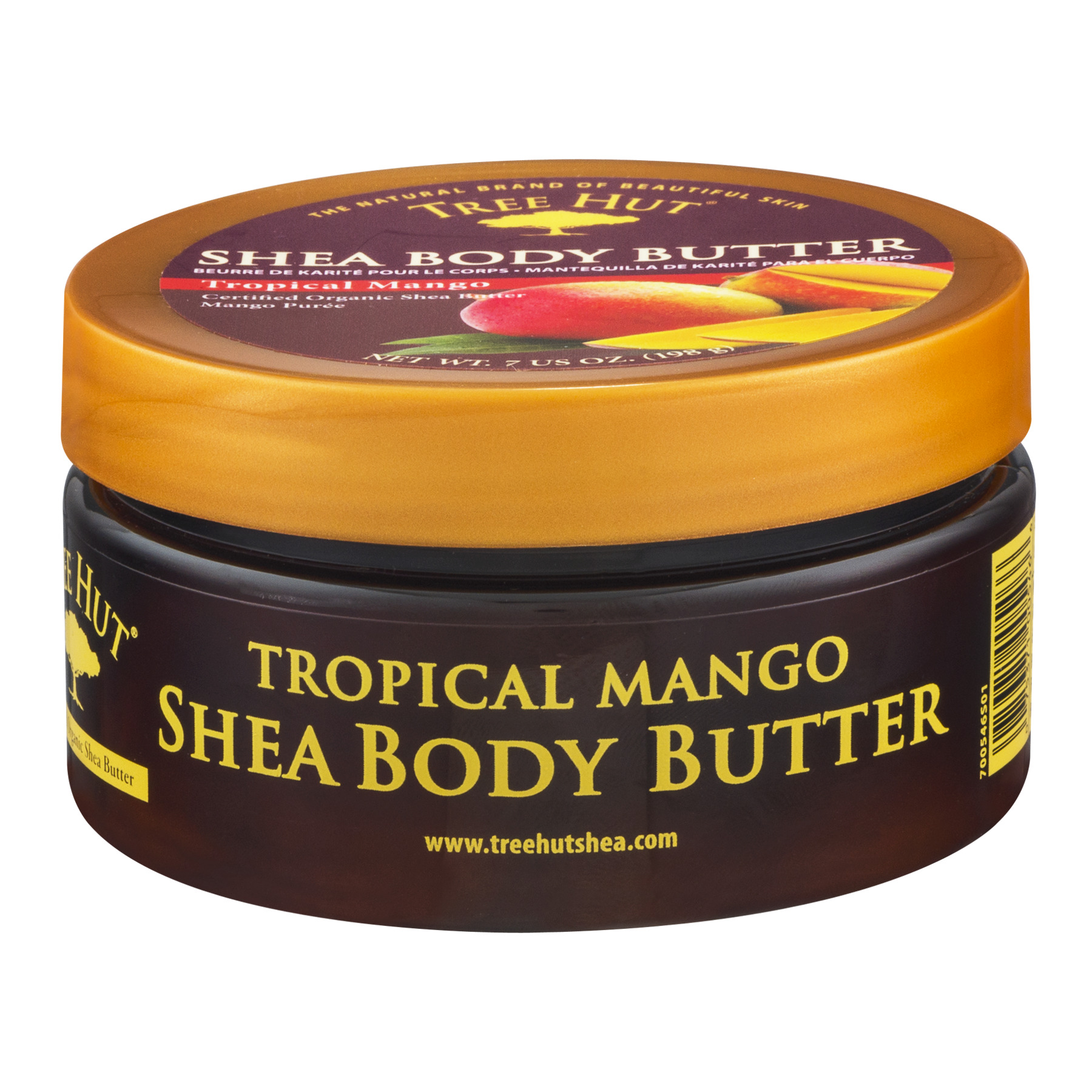 Tree Hut Shea Body Butter Tropical Mango, 7.0 OZ