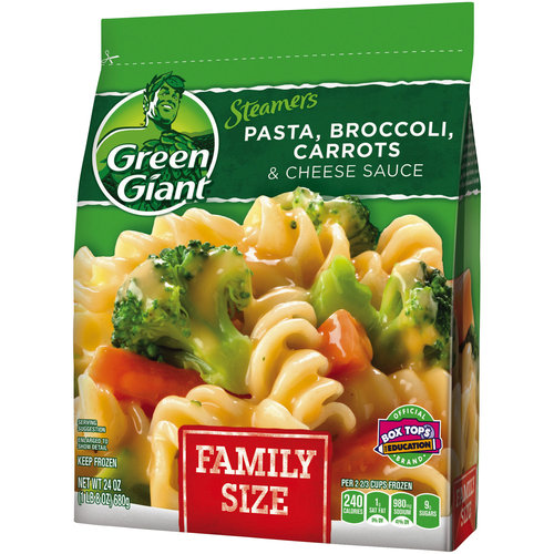Green Giant Pasta Side Dish w/Broccoli/Carrots & Cheese Sauce, 24 oz