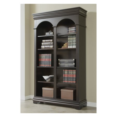 Martin Home Furnishings Furniture Beaumont Open Bookcase - 46 in. Wide ()