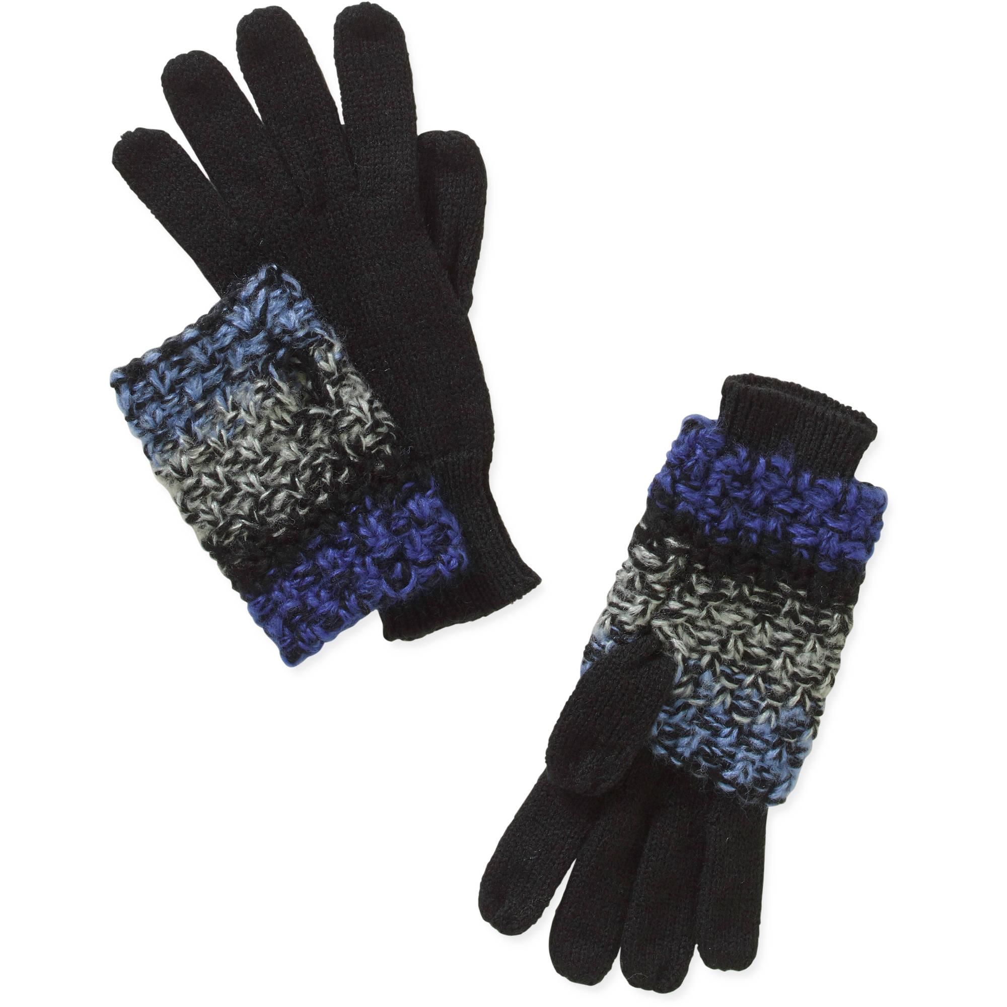 Women's 3-In-1 Marled Glove