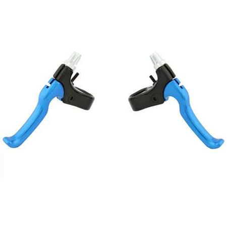 408 Alloy Brake Lever Set Black/Blue. for bicycle brake, bike brake