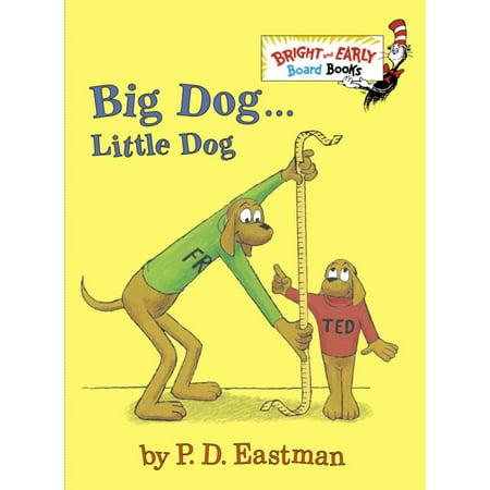 Big Dog Little Dog (Board Book)