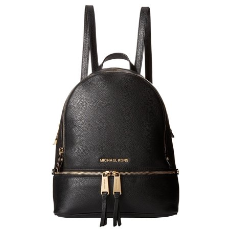 300a2cc90aff MICHAEL Michael Kors - MK Rhea Zip Medium Backpack - Black - Walmart.com