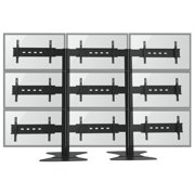 """TygerClaw TV Wall for Nine 30""""-60"""" Flat Panel TV"""