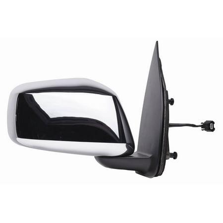 Nissan Frontier Chrome Mirror (68033N - Fit System Passenger Side Mirror for 05-18 Nissan Frontier (extended/ crewcab), 05-15 Xterra, chrome, foldaway,)