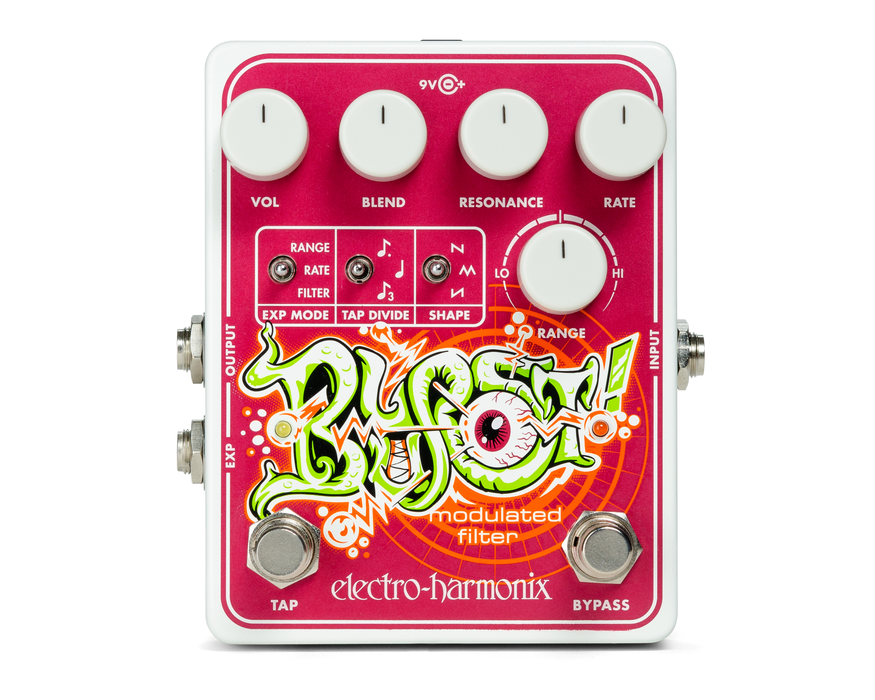 Electro-Harmonix Blurst Modulated Filter Guitar Bass Effects Pedal by Electro Harmonix