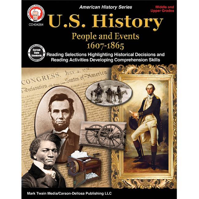 Carson Dellosa CD-404264 U.S. History Resource Book, Grades 6-High School - image 1 of 1