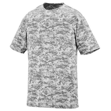 Augusta Digi Camo Wicking T-Shirt Wh Digi M - image 1 de 1