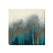 Artistic Home Gallery 'Teal Woods' by Roberto Gonzalez Painting Print on Wrapped Canvas
