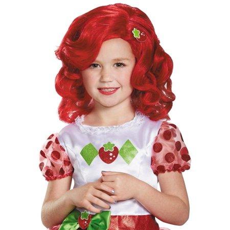 Stawberry Shortcake Deluxe Wig Child Costume Accessory - image 1 de 1