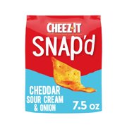 Cheez-It, Cheesy Baked Snacks, Cheddar Sour Cream and Onion, 7.5 Oz