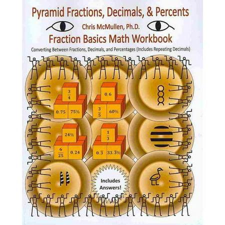Pyramid Fractions  Decimals    Percents   Fraction Basics Math Workbook  Converting Between Fractions  Decimals  And Percentages  Includes Repeating D