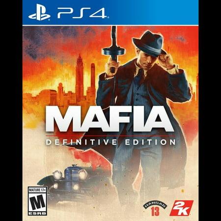Mafia Definitive Edition, 2K, PlayStation 4