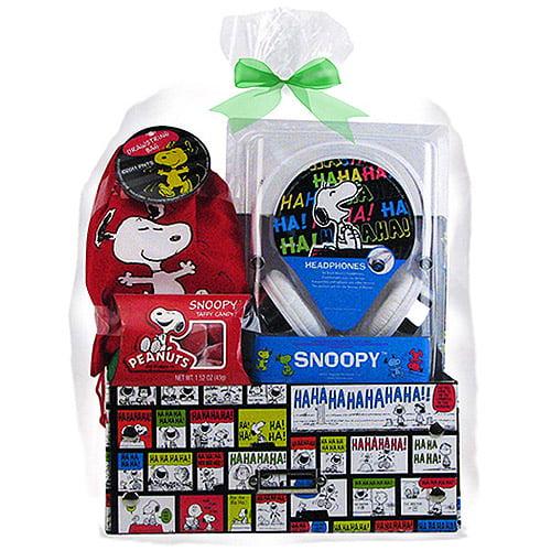 Snoopy Headphones Easter Gift Set